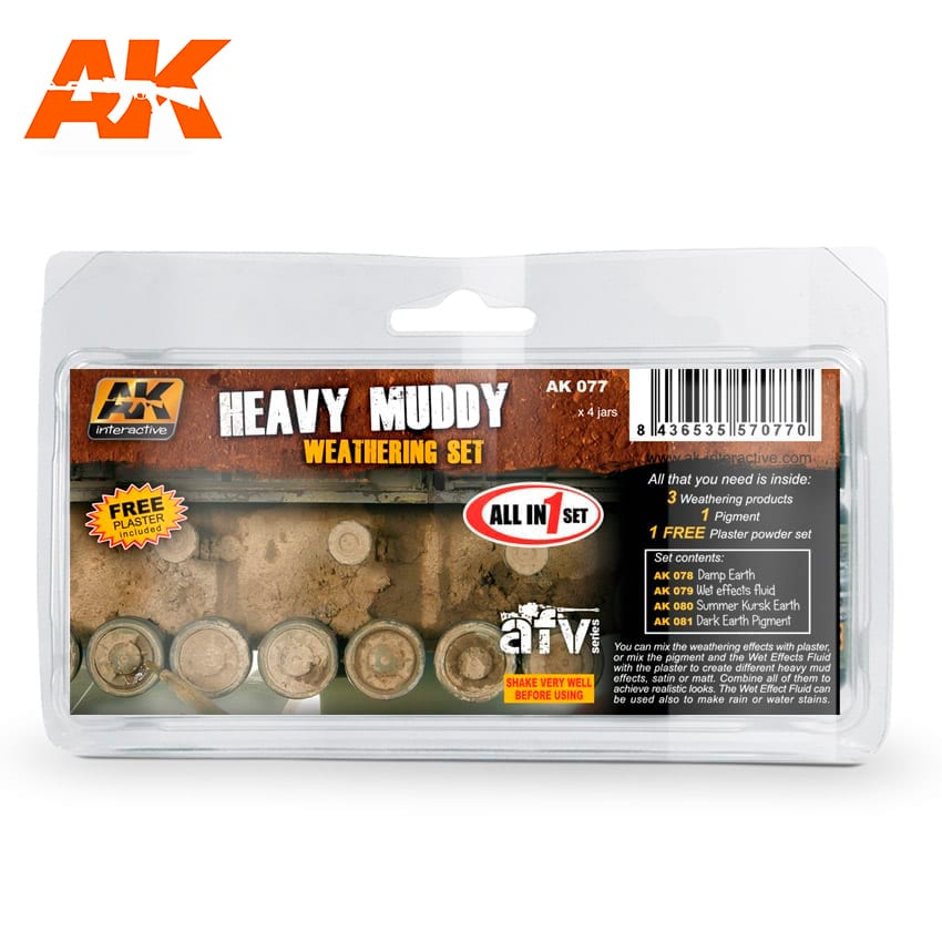 AK Interactive Heavy Mud Set