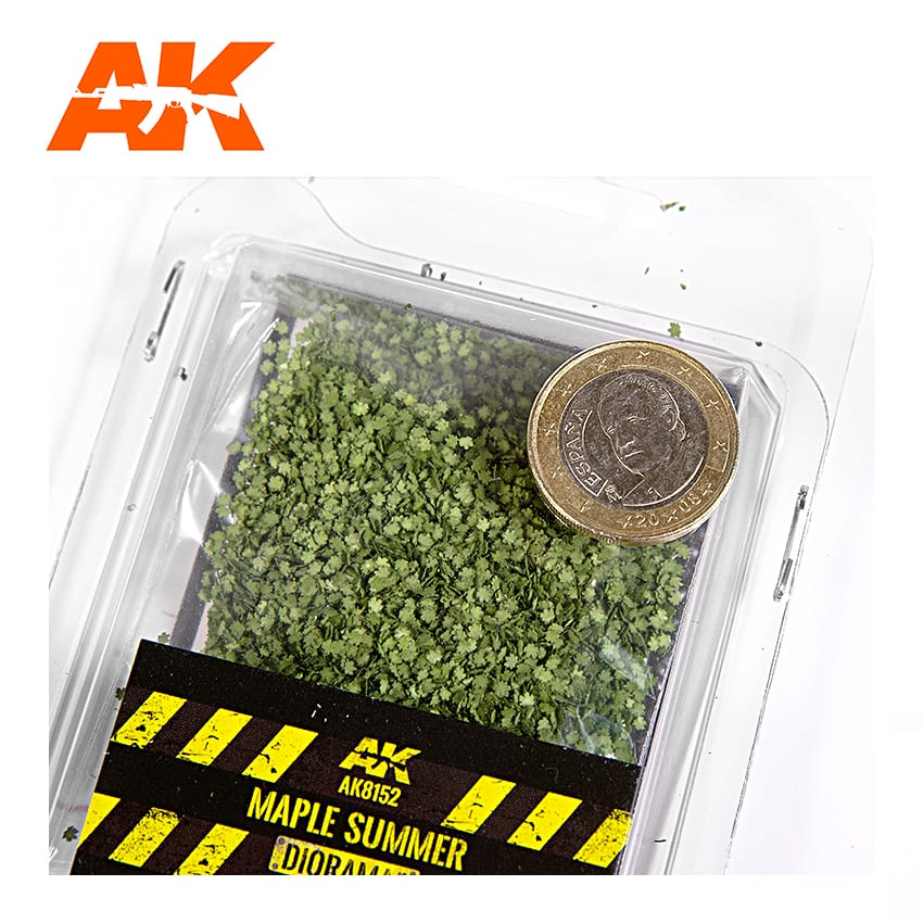 MAPLE SUMMER LEAVES 28MM / 1:72 (AK Interactive) AK8152