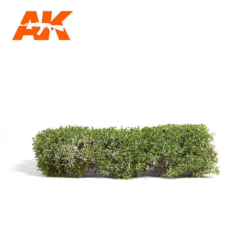 BLOOMING WHITE SHRUBBERIES 1:35 / 75MM / 90MM (AK Interactive) AK8174