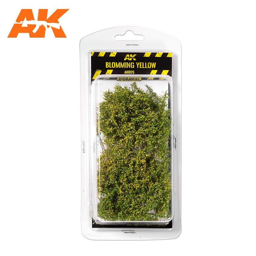 BLOOMING YELLOW SHRUBBERIES 1:35 / 75MM / 90MM (AK Interactive) AK8175
