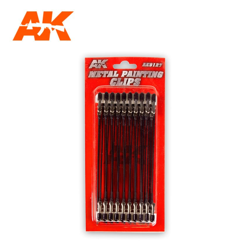 Metal Painting Clips x20 (AK Interactive) AK9127