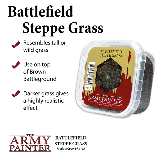 Basing: Steppe Grass Battleground 2019 (Army Painter)