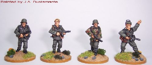 German Infantry with PPSh41 (Artizan Designs)