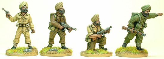 Sikh Infantry Command (Artizan Designs)