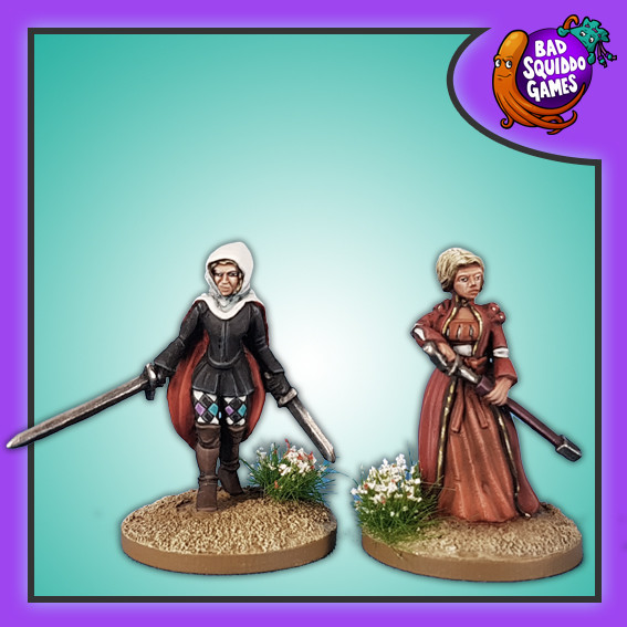 Lucrezia Borgia - 16th c. Assassin - Bad Squiddo Games