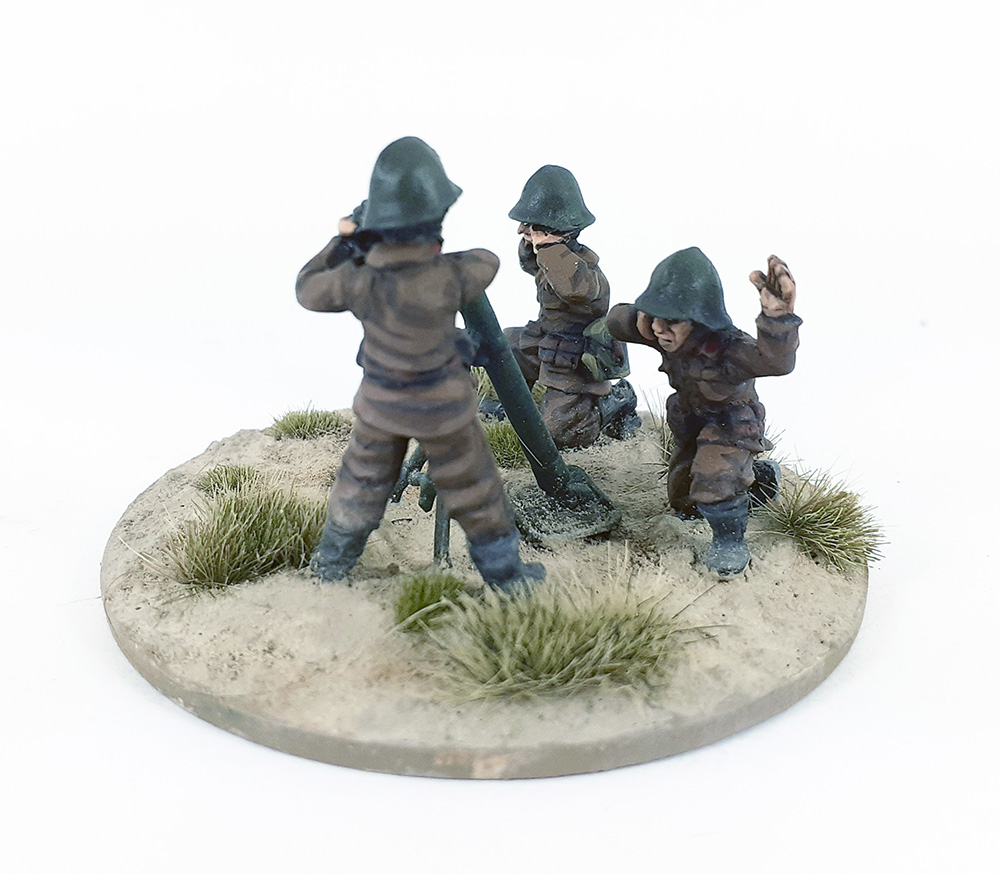 Bulgarian 81mm Mortar Team (General release April 2nd)