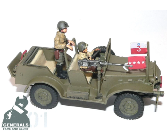 General Patton's Command Vehicle/Staff Car (Company B) - Summer Uniform