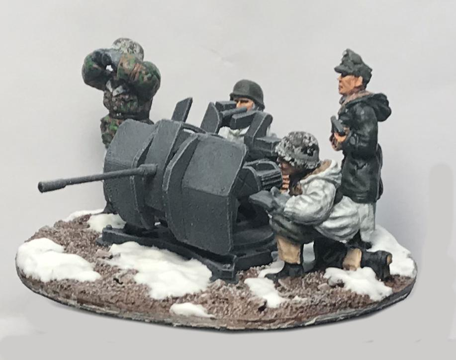 German Flak Crew (4) - Winter Uniform (Company B)