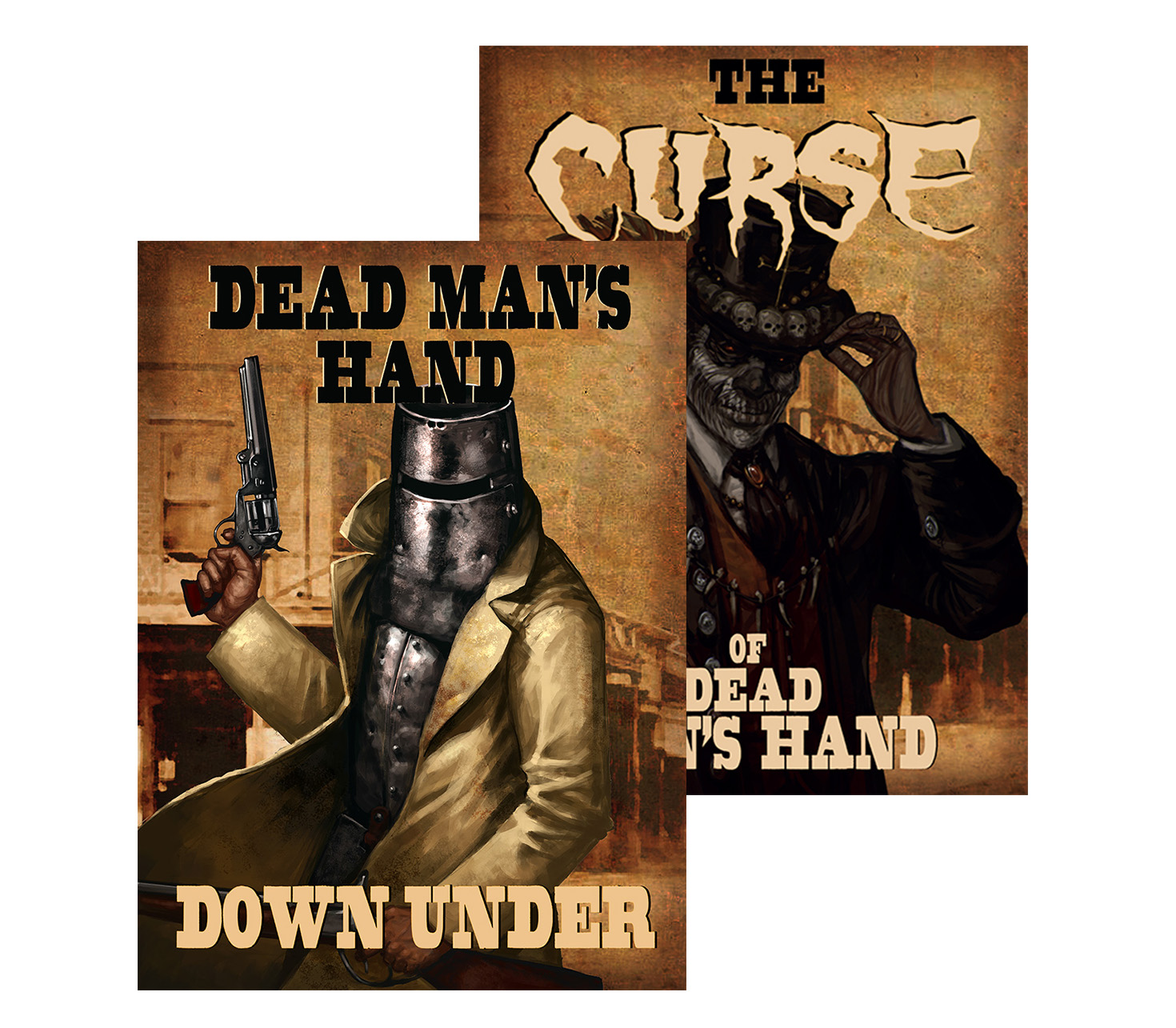 The Curse of Dead Man's Hand Down Under Bundle