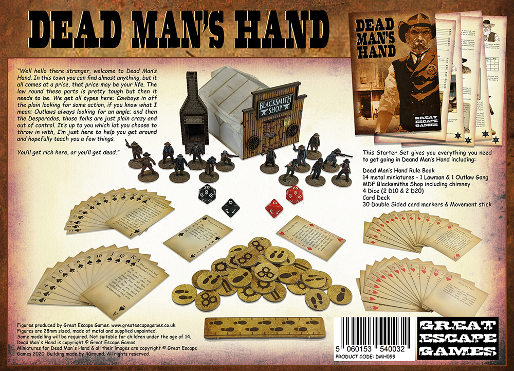 Dead Man's Hand - Limited Edition Two Player Starter Set