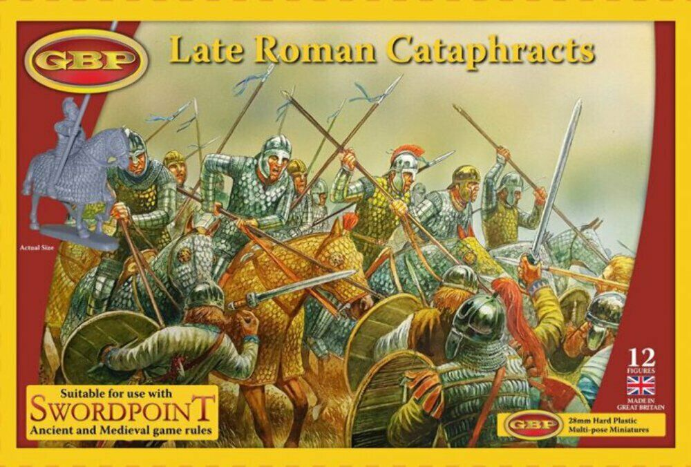Late Roman Cataphracts Plastic Box Set (Gripping Beast)
