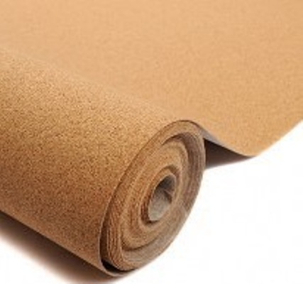 1/8 X 12 X 36 CORK SHEET- 2.5mm