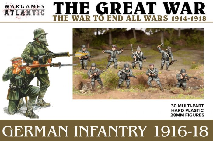 German Infantry 1916-1918 (Wargames Atlantic)