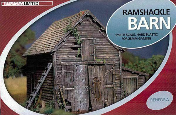 Ramshackle Barn Plastic Kit (Renedra)