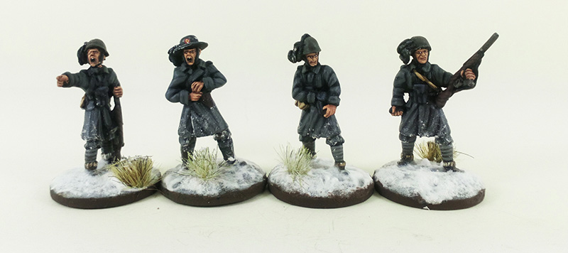 Italian Bersaglieri Platoon - Winter Uniform (Great Escape Games) BER102/103/104