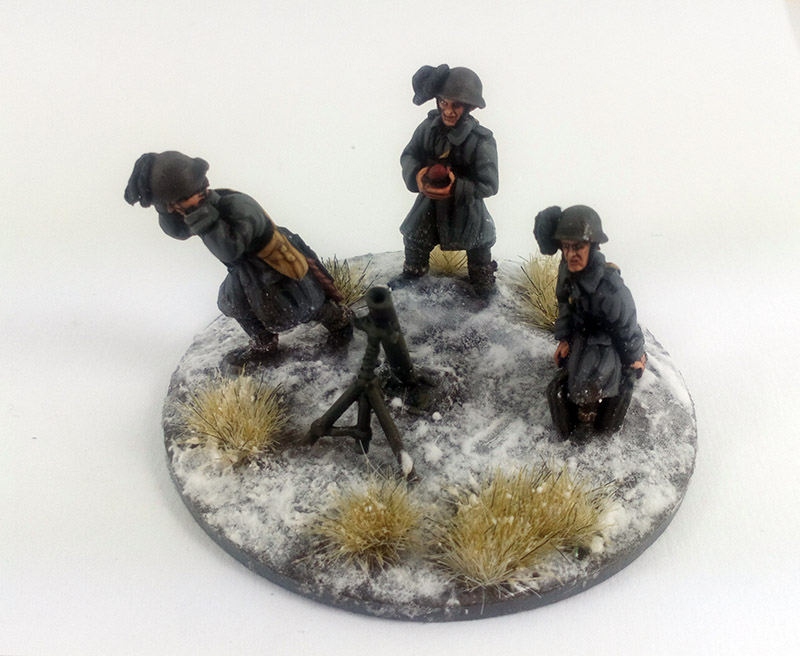 Bersaglieri Iron Cross Army- Winter Uniform (Great Escape Games) BER102/103/104/105/107/110