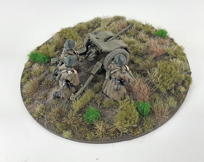 Stretch Goal 5 - Danish Bofors 37mm Anti-tank Gun & 3 Crew (Great Escape Games)