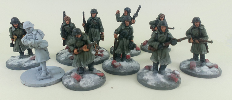 Stalingrad Veterans Winter German Platoon - Winter Uniform (Great Escape Games) GER102/103/104