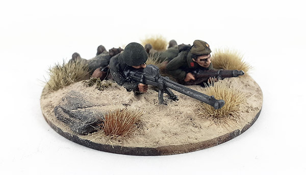 Greek Mountain Infantry/Evzones Boys AT Rifle Team (Great Escape Games)