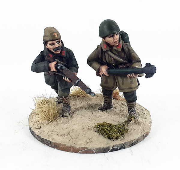 Greek Mountain Infantry/Evzones Flamethrower Team (Great Escape Games)
