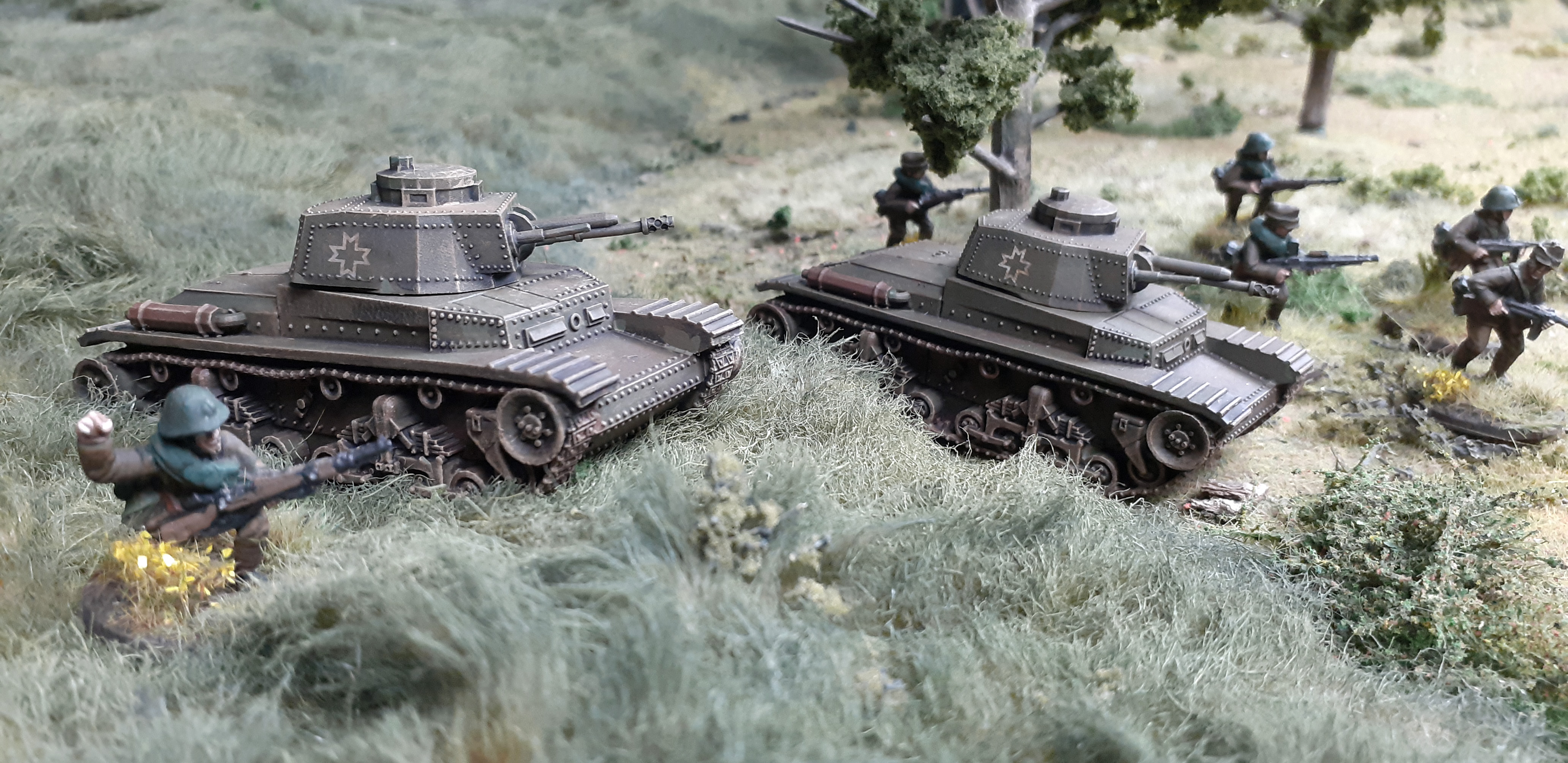 Romanian R2 Light Tank Troop (Great Escape Games)