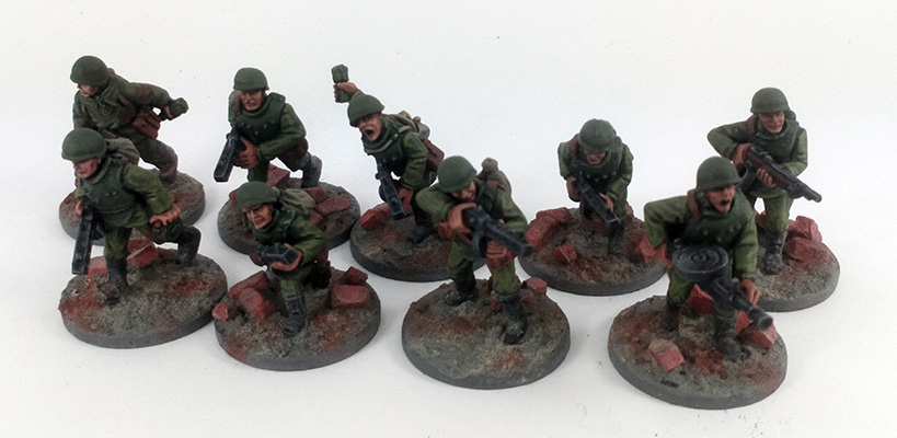 Soviet Assault Engineers (Great Escape Games)