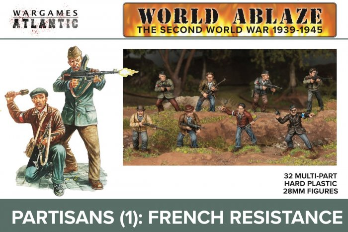 Partisans (1): French Resistance (Wargames Atlantic)