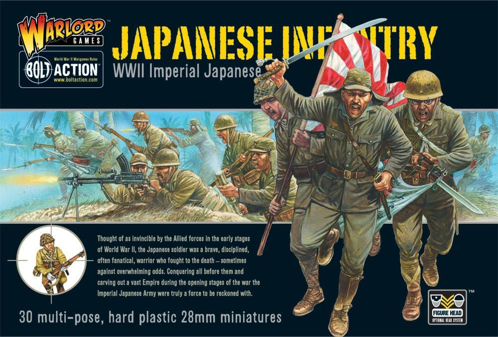 Imperial Japanese infantry Plastic Boxed Set (Warlord)