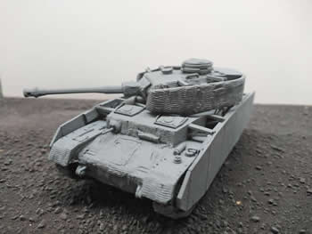 Panzer IV Ausf H with Zimmerit (Blitzkrieg Miniatures) 28mm