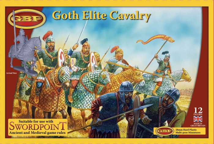 Goth Elite Cavalry (Gripping Beast)