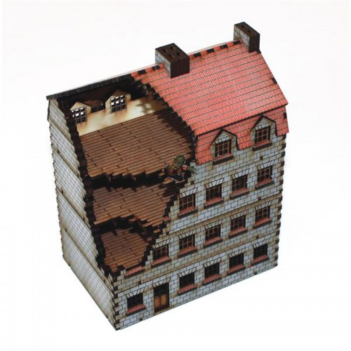 15mm Damaged Bank/Apartments (4Ground)