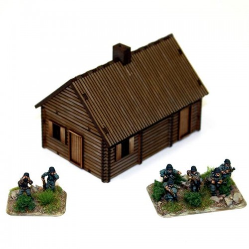 15mm Log Timber House (4Ground)