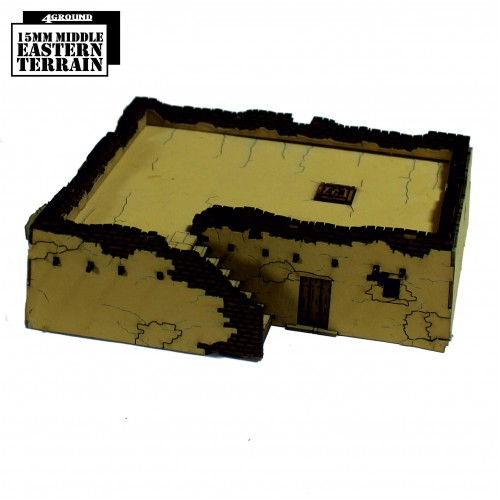 15mm Arabic Rural Dwelling 3 (4Ground)
