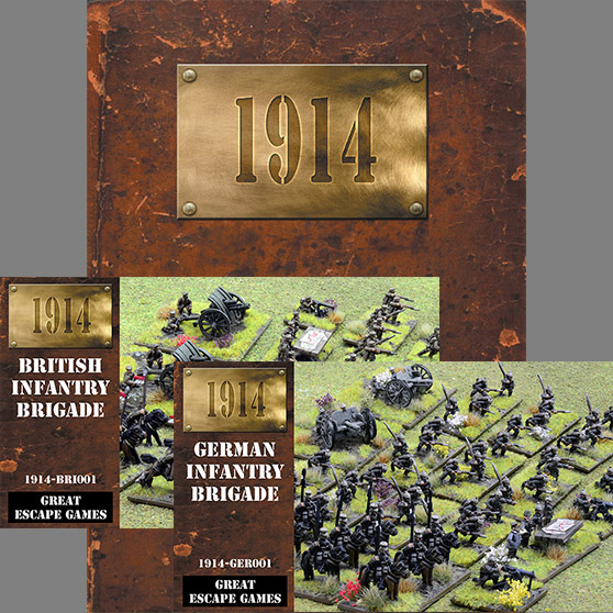 1914 - Battle of the Frontiers - Two Player Starter Set