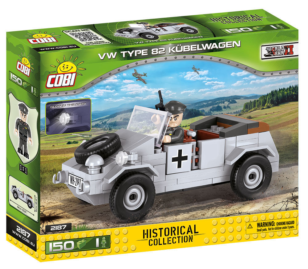 VW Kübelwagen Type 82 (2187) Cobi Small Army WWII