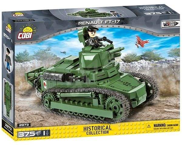 Renault FT-17 Light Tank (2973) Cobi Small Army WWII
