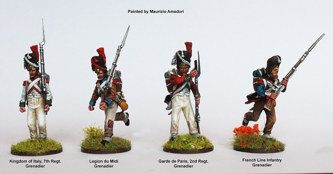French Napoleonic Infantry Battalion 1807-14 (Perry)