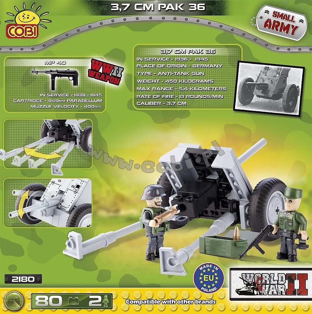 Jeep Willys MB (24092) Cobi Small Army WWII