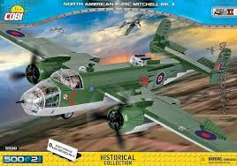 North American B-25 Mitchell (5530) Cobi Small Army WWII