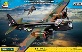 Vickers Wellington Mk.1C (5531) Cobi Small Army WWII