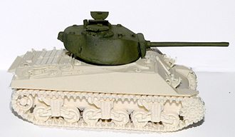 AFV Sherman 76mm early turret (Company B)