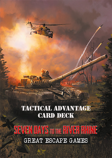 Seven Days to the River Rhine Tactical Advantage Card Deck
