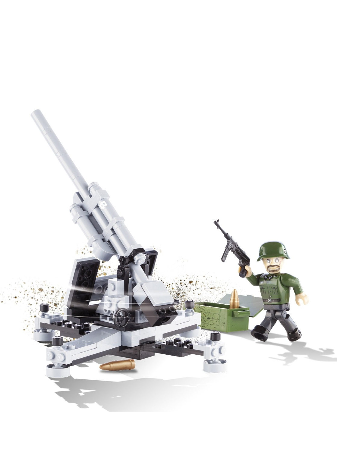 Flak 36/37 88mm (2343) Cobi Small Army WWII