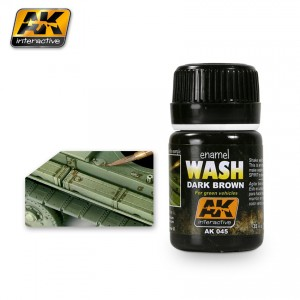 AK Interactive Wash for Green Vehicles