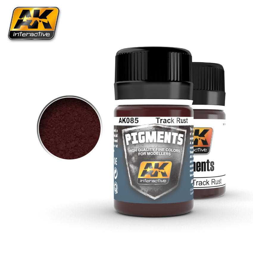 AK Interactive Pigments - Track Rust