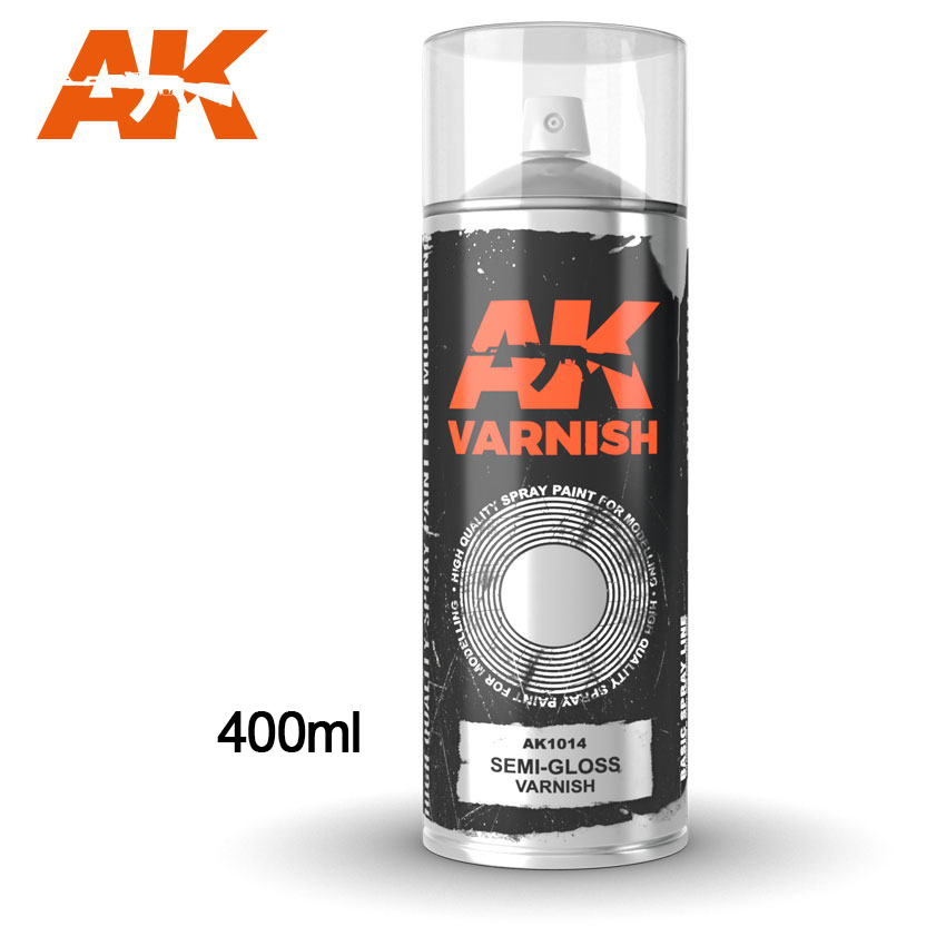 AK Interactive - Semi Gloss Satin Varnish (400ml)
