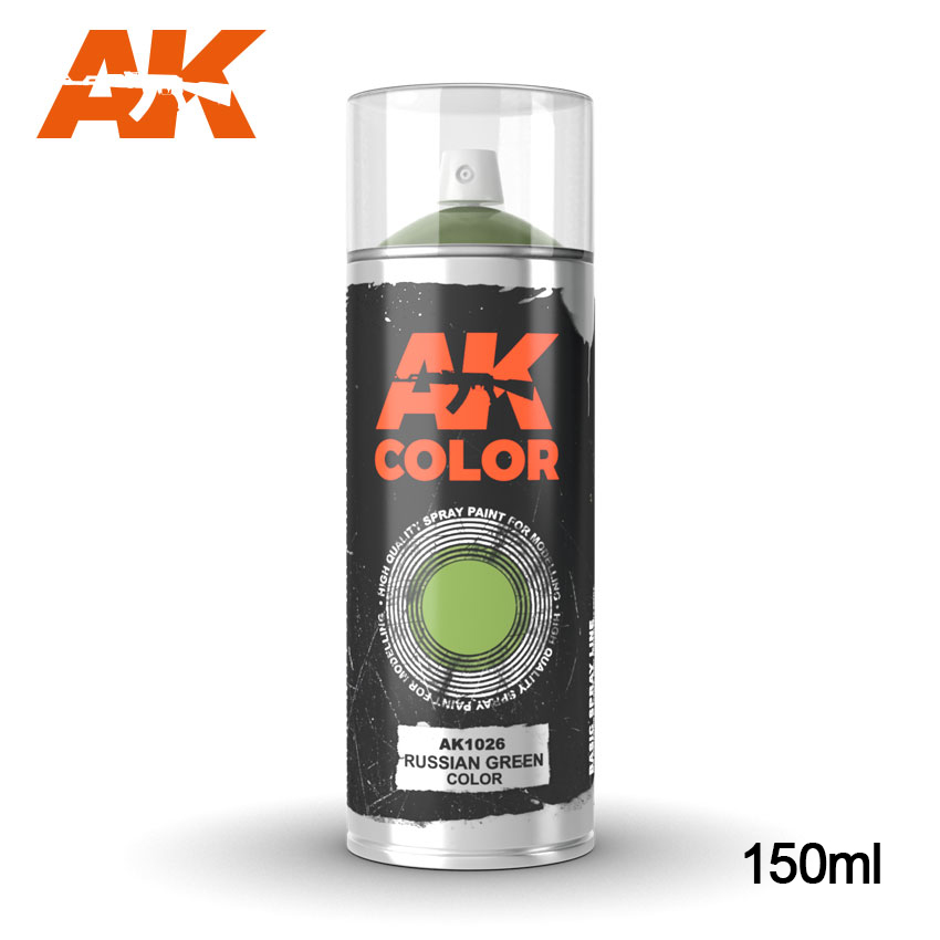 AK Interactive - Russian Green Spray (150ml)