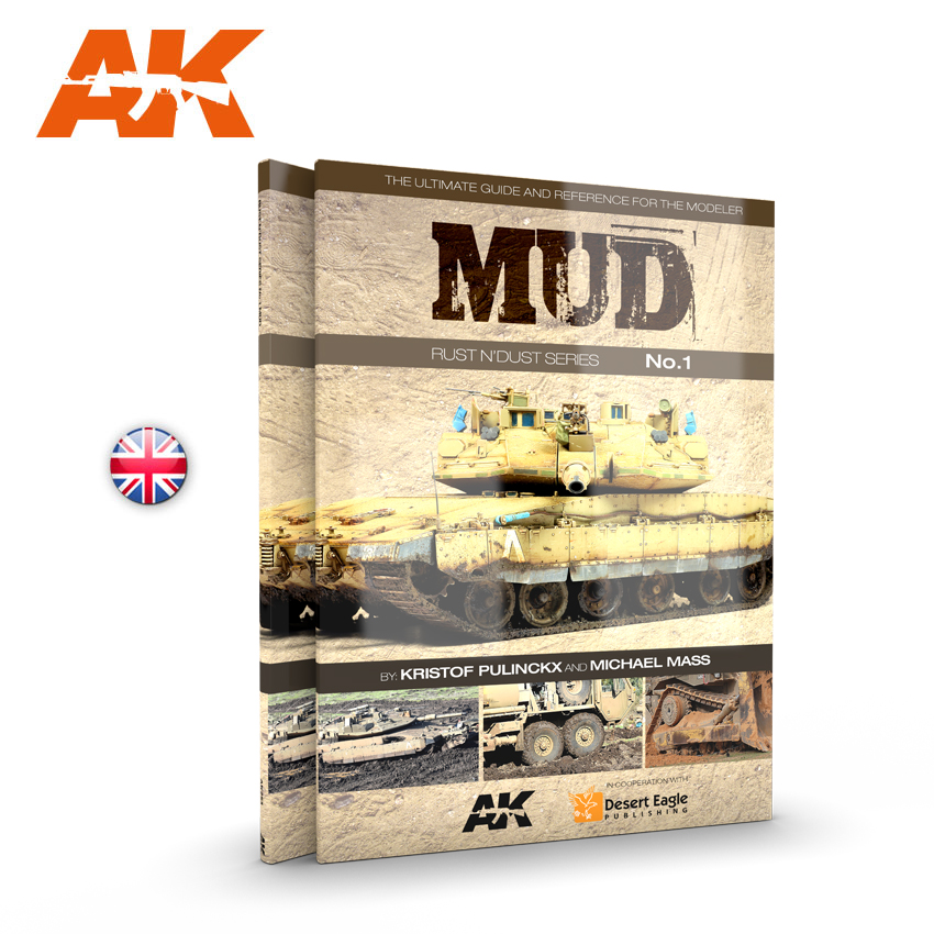 RUST N' DUST MAGAZINE SERIES VOL.1: MUD (AK Interactive) AK253