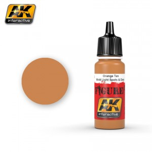 AK3022 Orange Tan/M-44 Light Spots & Dots (AK Interactive)