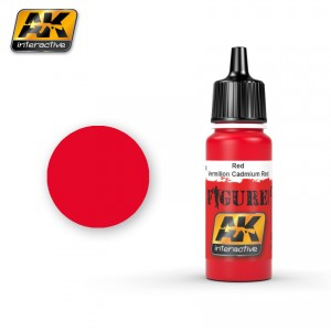 AK3048 Red/Vermillion Cadmium Red (AK Interactive)